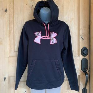 Under Armour Black Camouflage Hoodie Pullover